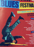 San Francisco Blues Festival poster 1994