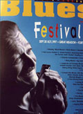 San Francisco Blues Festival poster 1997