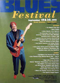 San Francisco Blues Festival poster 1998