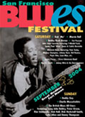 San Francisco Blues Festival poster 2004