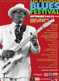 San Francisco Blues Festival poster 2005