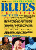 San Francisco Blues Festival poster 2006